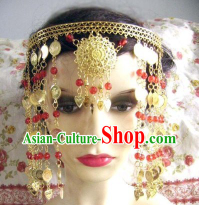 Chinese Classic Golden Tassels Hanging Hair Accessories