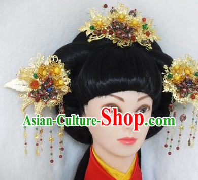 Ancient Chinese Princess Handmade Hair Accessories Complete Set