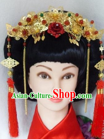 Traditional Chinese Wedding Hair Accessories for Brides