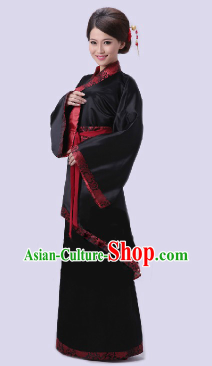 Traditional Chinese Hanfu Quju Clothing for Women