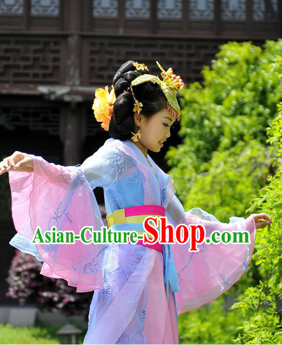 Ancient Chinese Palace Princess Costume for Children