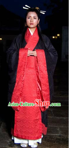Ancient Chinese Wedding Ceremony Clothing for Women