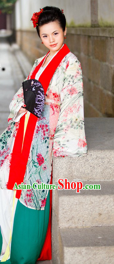 Ancient Chinese Outside Zhe Zi Robe for Women