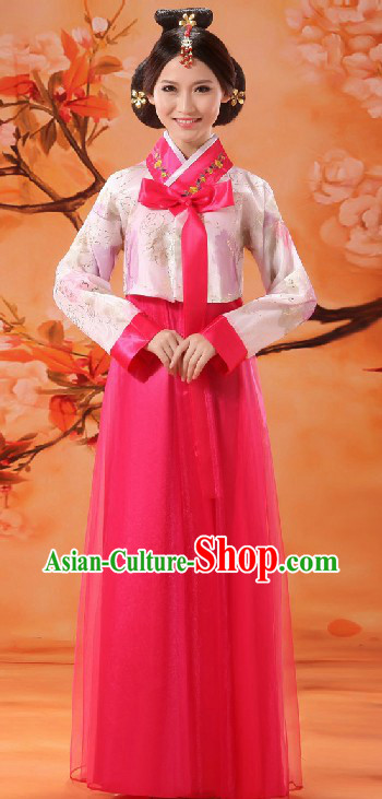 Ancient Korean Nationality Dance Costume for Women