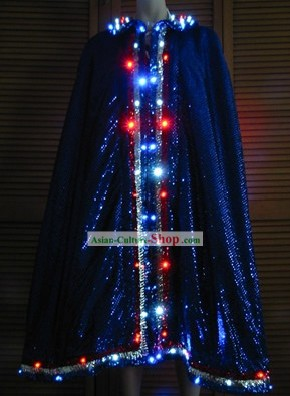 Electric Lights Wire Luminous Performance Cape