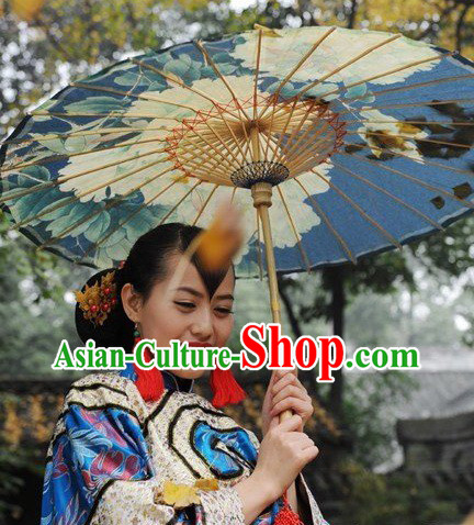 Traditional Chinese Handmade Peony Umbrella