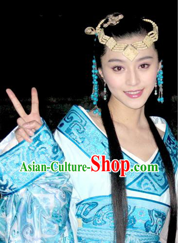 Ancient Chinese Imperial Palace Embroidered Princess Costume Complete Set