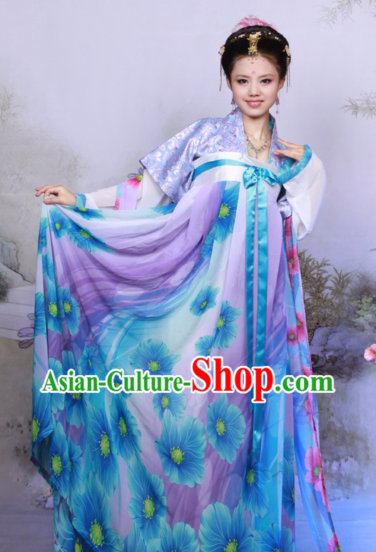 Traditional Chinese Tang Dynasty Clothes for Women