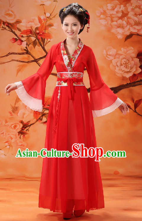 Chinese Classical Red Wedding Dress for Women