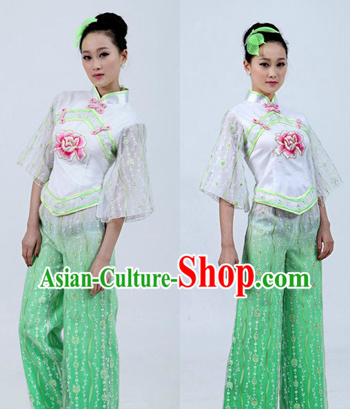 Chinese Classical Handkerchief Dance Costume for Women