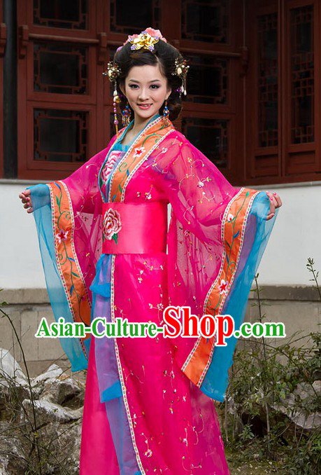 Traditional Chinese Tang Dynasty Empress Costume for Women