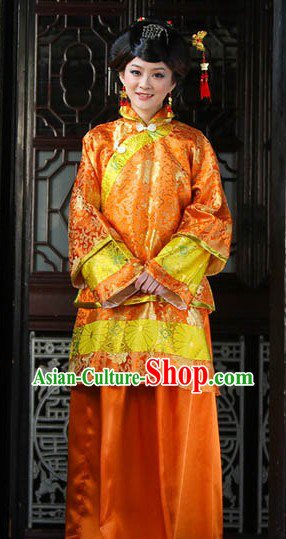 Traditional Chinese Mandarin Xiuhe Costume for Women