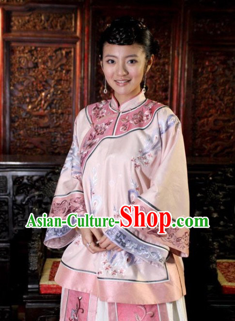 Traditional Chinese Mandarin Minguo Lady Clothing