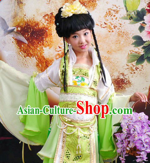 Ancient Chinese Princess Beauty Contest Costumes for Kids