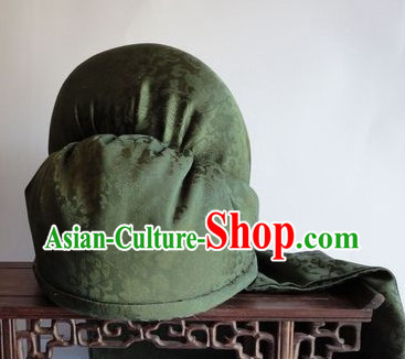 Ancient Chinese Gwan Gong Cloth Hat
