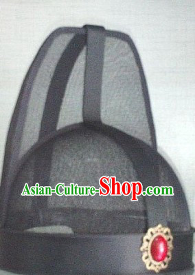 Ancient Chinese Tang and Song Dynasty Official Gauze Black Hat