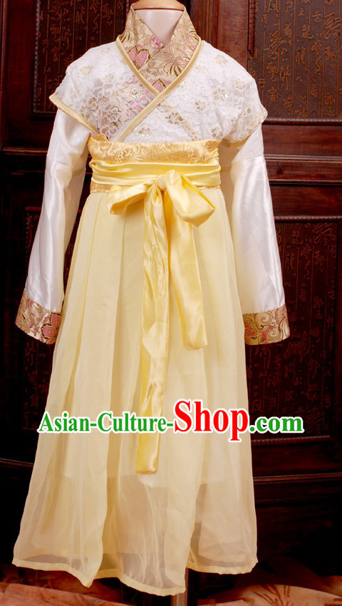 Traditional Chinese Hanfu Clothing Complete Set for Girls