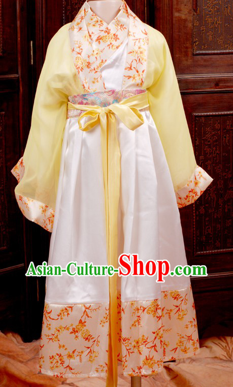 Traditional Chinese Clothing Complete Set for Children