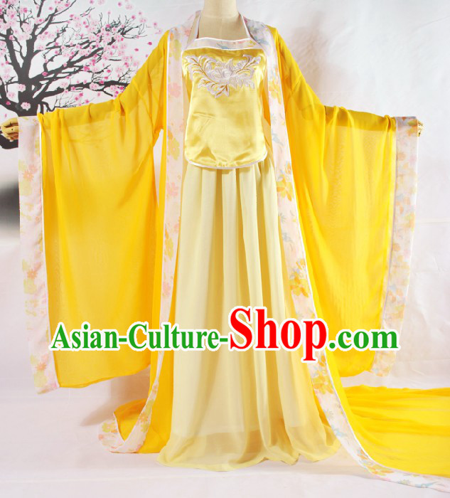 Tang Dynasty Women Clothing Complete Set