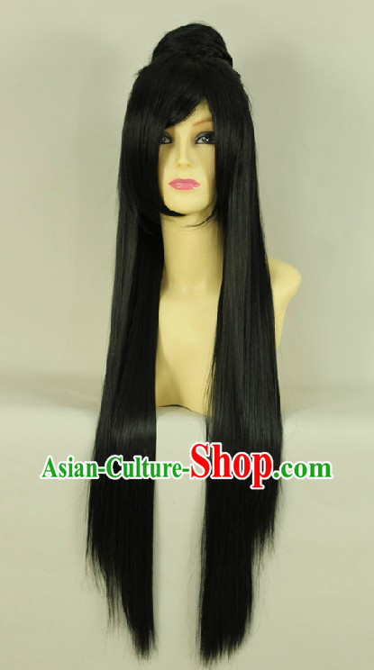 Ancient Chinese Guzhuang Long Wig