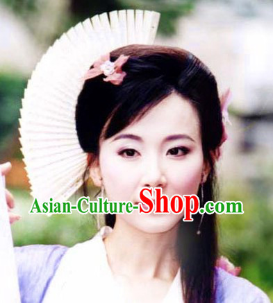 Ancient Chinese Beauty Fan Style Hair Accessories