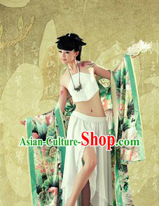 Ancient Chinese Lotus Lady Costume