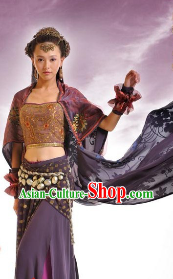 Ancient Chinese Kung Fu Princess Costumes