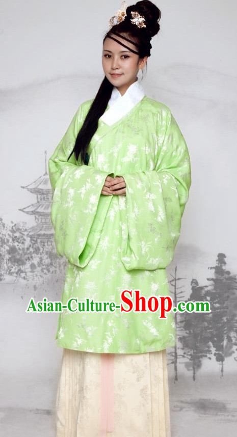 Ancient Chinese Ming Dynasty Female Clothing
