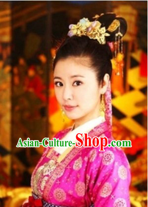 Ancient Chinese Tang Dynasty Handmade Hair Accessories