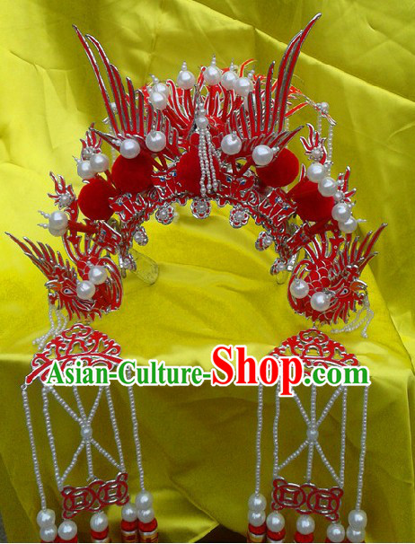 Traditional Chinese Peking Opera Phoenix Crown for Women