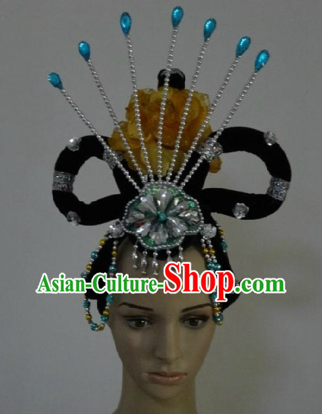 Chinese Classical Dancing Peacock Hair Accessories