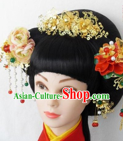 Ancient Chinese Handmade Hair Accessories and Hairpins