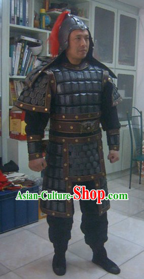Ancient Chinese General Armor Costumes for Men