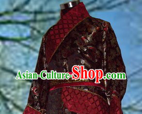 Ancient Chinese Han Dynasty Lord Clothing for Men