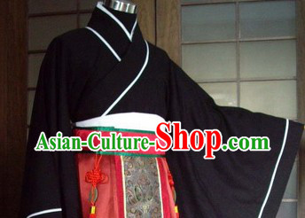 Ancient Chinese Han Dynasty Ceremonial Clothing for Men