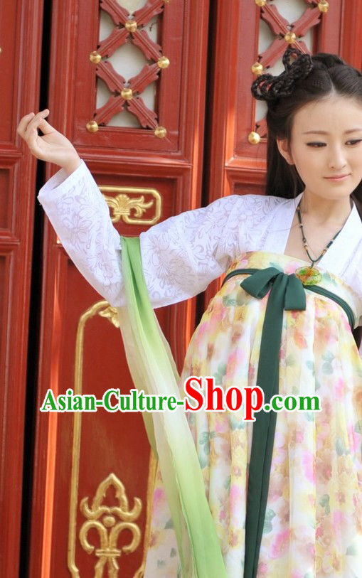 Ancient Chinese Tang Style Clothing for Women