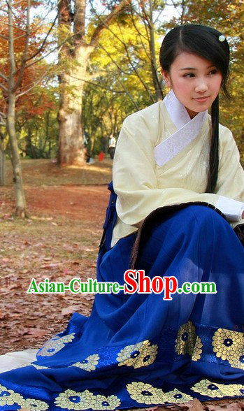 Ming Dynasty Jacket Clothing Complete Set for Ladies
