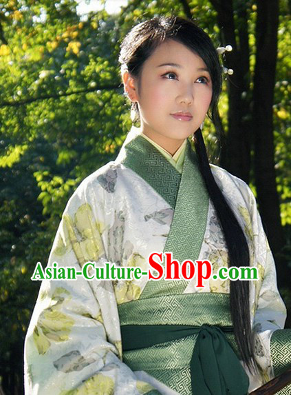 Han Dynasty Princess Clothing Complete Set for Ladies