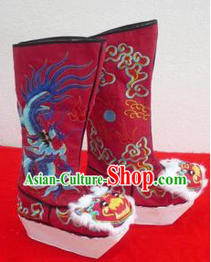 Traditional Chinese Handmade Dragon Boots