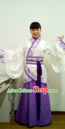 Ancient Chinese Wide Sleeve Hanfu Clothing for Women
