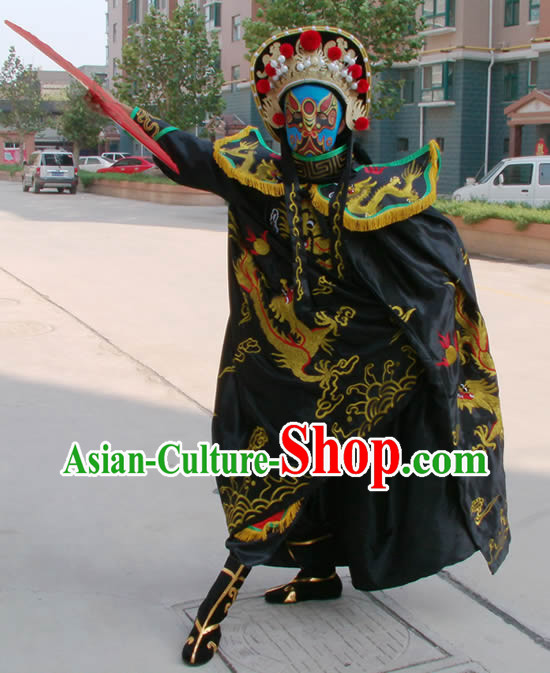 Bian Lian Face Mask Changing Costumes Hat Eight Masks Music CD and Teaching DVD Ccomplete Set