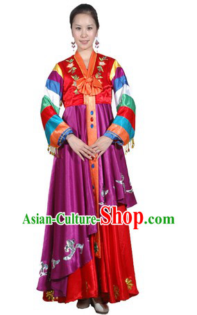 Korean Minority Dance Costumes for Women