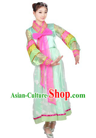 Chinese Korean Minority Dance Costumes for Women