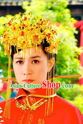 Chinese Classicial Wedding Butterfly Phoenix Coronet for Women