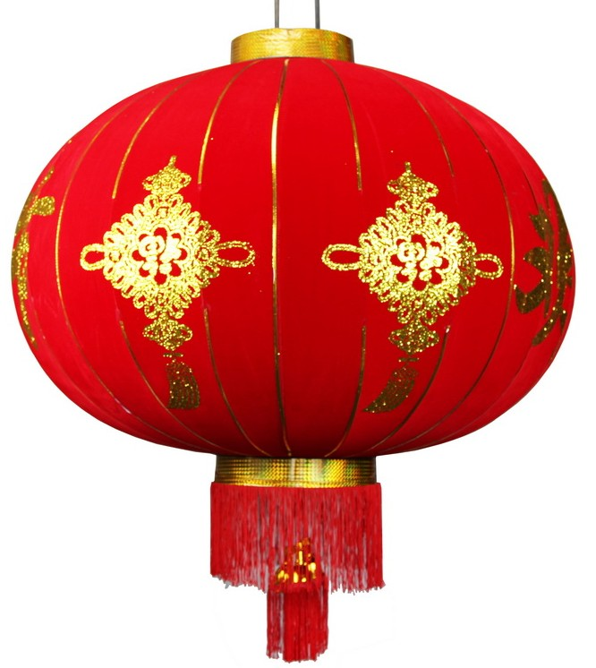 47 Inches Large Chinese New Year Celebration Red Lantern