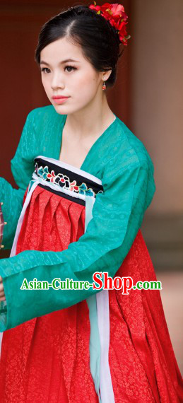 Tang Dynasty Princess Attire Complete Set for Women