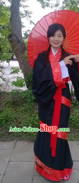 Ancient Chinese Imperial Palace Han Dynasty Empress Suit for Women