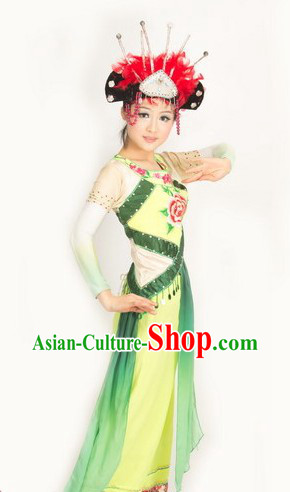 Traditional Chinese Qiang Ethnic Costumes for Women