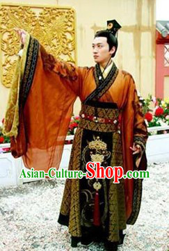 Traditional Chinese Emperor Outfit for Men