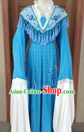 Long Sleeves Chinese Embroided Costumes for Women